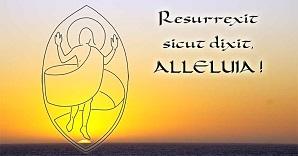 Il est vraiment ressuscité ! Alléluia ! (La résurrection. Superbe dessin tiré du livre de J-F KIEFFER 1000 Images)